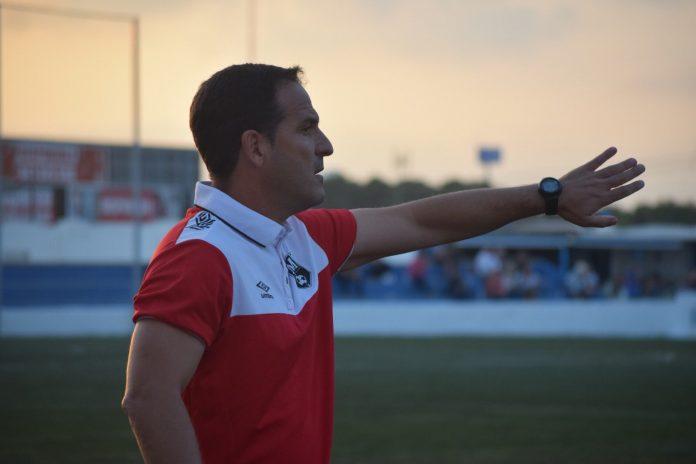 Paco García, entrenador de Mar Menor FC